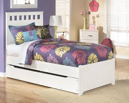 girls twin bed frames lulu twin panel bed with trundle the brick