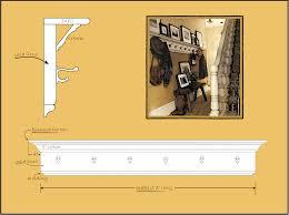 wall mounted coat rack ideas impress rustic andrea outloud