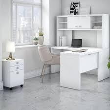 kathy ireland office by bush echo 4 piece l shape desk office