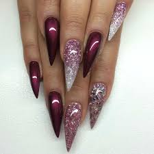9 stilettos nails designs hative 35 fearless stiletto nail art