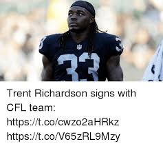 Trent Richardson Meme - trent richardson signs with cfl team httpstcocwzo2ahrkz