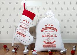 21 festive santa sacks and for lil elves s grapevine