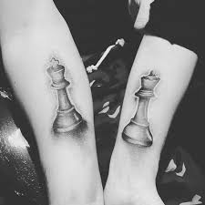 10 amazing king and queen tattoos for couples love all style