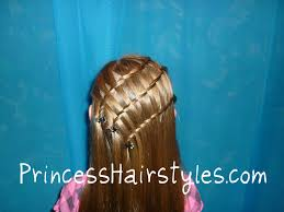 triple twisty waterfall braid hairstyle hairstyles for girls