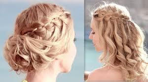 coiffure pour mariage cheveux mi tuto coiffure pour noël les fêtes de fin d ée soirée mariage