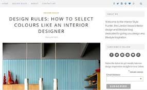 Top Interior Design Blogs by Top 10 Uk Interior Design Blogs By Category Collectie