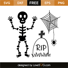 halloween elements lovesvg com