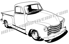 1948 chevy pickup truck clipart buy two images get one image free