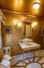gold bathroom ideas all that glitters is gold ten drop dead gold bathrooms pinkous