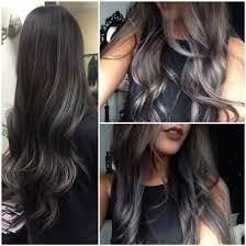 dark hair with grey streaks diy hair 8 ways to rock gray hair bellatory