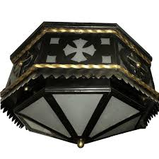 wrought iron flush mount lighting wrought iron flush mounted light fixture for sale at 1stdibs