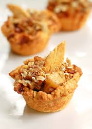 mini apple pie recipe and thanksgiving dessert ideas