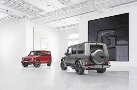 mercedes benz g class 2017 europe gets two 2017 mercedes benz g class special editions