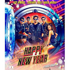 happy new years posters poster of shah rukh khan starrer happy new year released