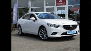 mazda saloon cars mazda 6 saloon arctic white solid youtube