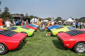 cool golden cars the beautiful cars of pebble beach concours d u0027elegance could