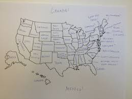map of united states countries and capitals it u0027s thanksgiving so we asked brits to label the united states