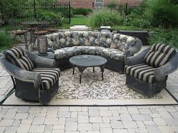 Black Wicker Furniture Black Distressed Wicker Furniture Set Cunningham Estate