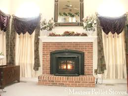 fireplace ideas diy doors for sale masters pellet stove bowie