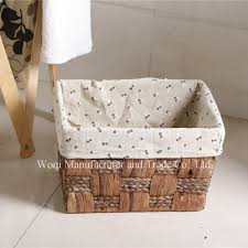 2017 high quality willow picnic plastic weave basket cheap wicker
