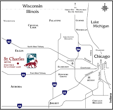 map of st maps directions city of st charles il
