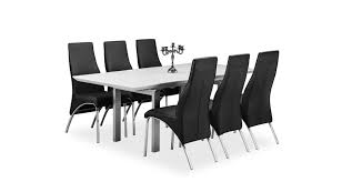 High Gloss Extending Dining Table Tribeca Extending Dining Table White High Gloss