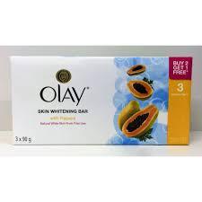 Sabun Olay olay skin whitening papaya soap 90 x 3 pack health