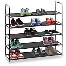Shoe Rack by Halter 5 Tier Stainless Steel Shoe Rack Shoe Storage