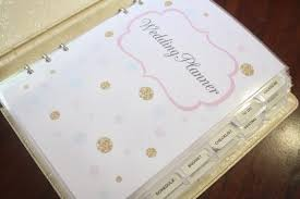 personalized wedding planner innovative my wedding planner book personalized wedding organizer