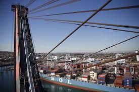 coastal communities fight to slow seaports surge wsj