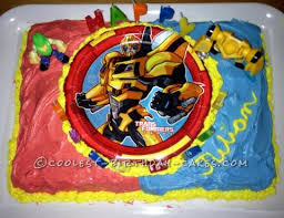 transformers birthday cakes coolest transformers cakes