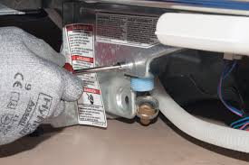 Dishwasher Leaks Water How To Replace A Dishwasher Water Inlet Valve Repair Guide Help