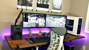 Ikea Studio Desk by Clean U0026 Minimalistic Desk Setup Tour Ft Ikea Karlby Walnut