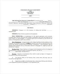 31 free sales agreement forms