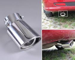 nissan altima exhaust tip replacement aliexpress com buy dwcx chrome stainless steel finisher end trim