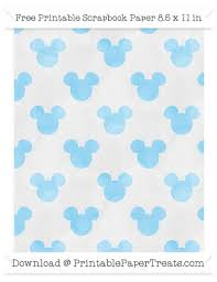 mickey mouse wrapping paper baby blue watercolor large mickey mouse pattern paper