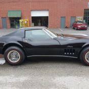 1969 corvette stingray for sale 1969 chevrolet corvette stingray project car chevrolet