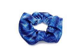 hair scrunchie caribbean blue hair scrunchie planet mermaid