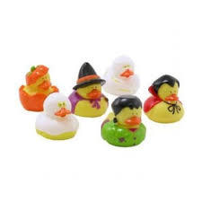 baby shower halloween theme halloween themed rubber ducks set of 6 bath or pool toys on onbuy
