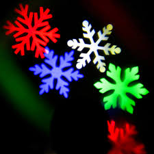 Light Flurries Snowflake Projector Review by Led Projection Light Crazyfire White Snowflakes Project Source Led