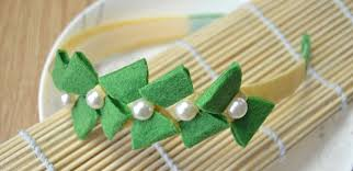 how to make headband bows how to make a headband with lovely green bows in fresh style