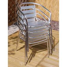 Aluminium Bistro Table And Chairs Nice Set Of 2 Café Aluminium Patio Chairs
