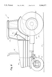 patent us5046577 steering mechanism for tractors google patents