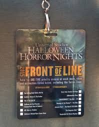 universal studios halloween horror nights 2017 tips for maximizing the universal studios hollywood front of the