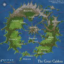 Pathfinder World Map by Calidar Maps For Bruce Heard U0027s World Of Calidar