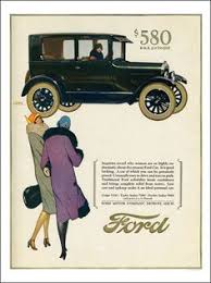 1927 ad hupp motor company hupmobile art deco woman car drive