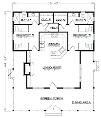 two bedroom house floor plans plans cottage floor plans 1000 sq ft
