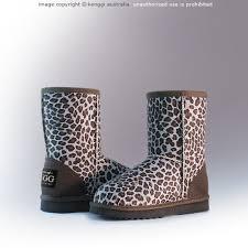ugg boots child mini premium australian sheepskin leopard ugg boots
