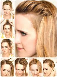 Hochsteckfrisuren Mittellange Haare Einfach by Die Besten 25 Hochsteckfrisuren Dünnes Haar Ideen Auf