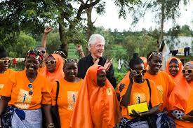 sister site bill clinton visits solar sister site in tanzania where women are
